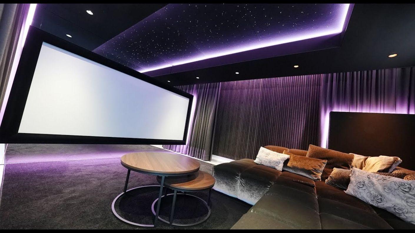 take me to the stars: Design Wohn-Heimkino mit DSP, Laser, Atmos als konsequent umgesetztes Konzept
