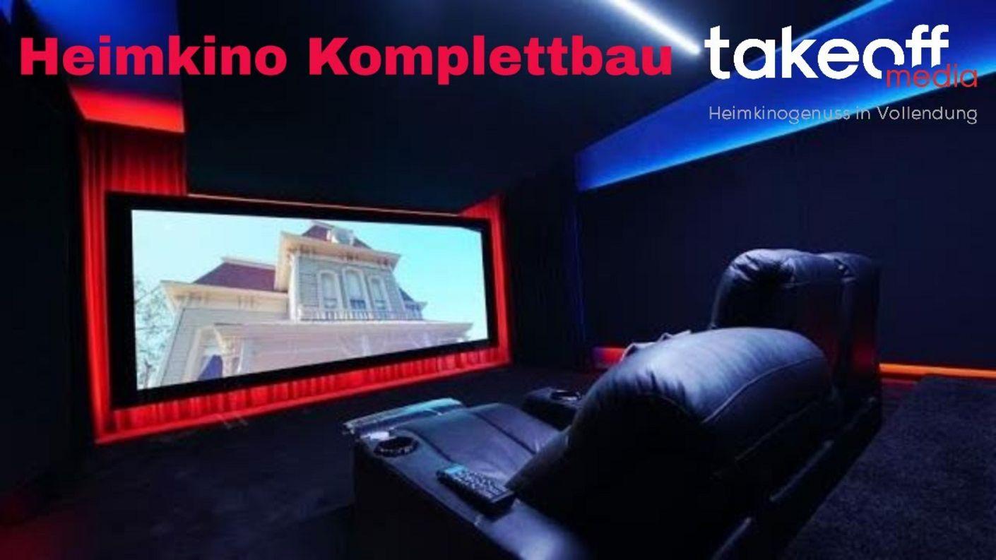 Heimkino Komplettbau - stylisches Heimkino mit Konzept: pureLine 2.0 von Hollywood-Zuhause